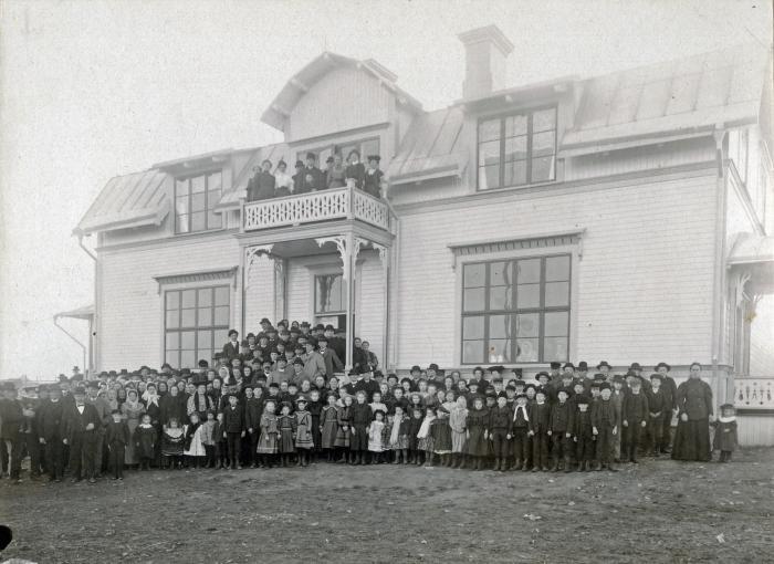 15 gamla småskolan