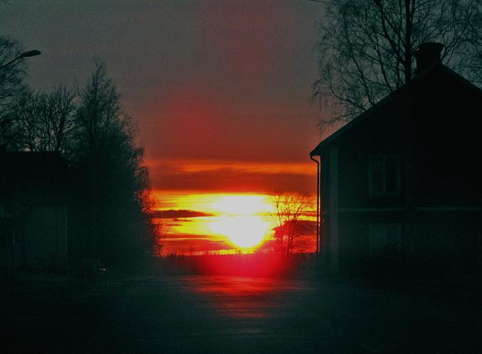 15 solnedgång