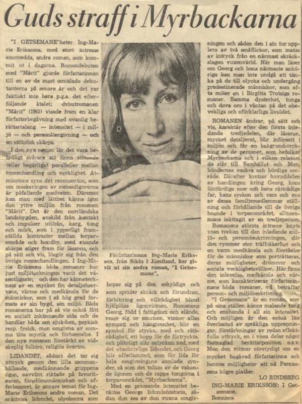 20 maj 1967 ing-marie eriksson