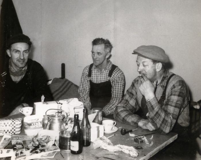 banarbetare fikar 1950-talet