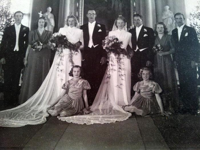 bröllopsfoto red