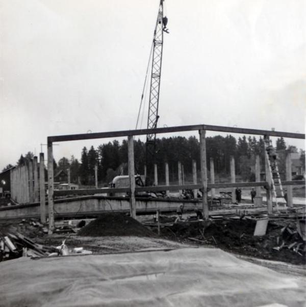 bygget av nuvarande ica 1963