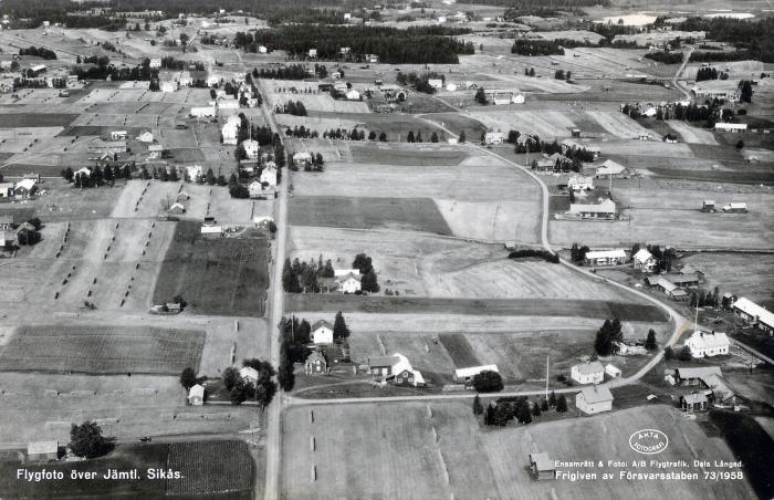 flygfoto sikås 1958