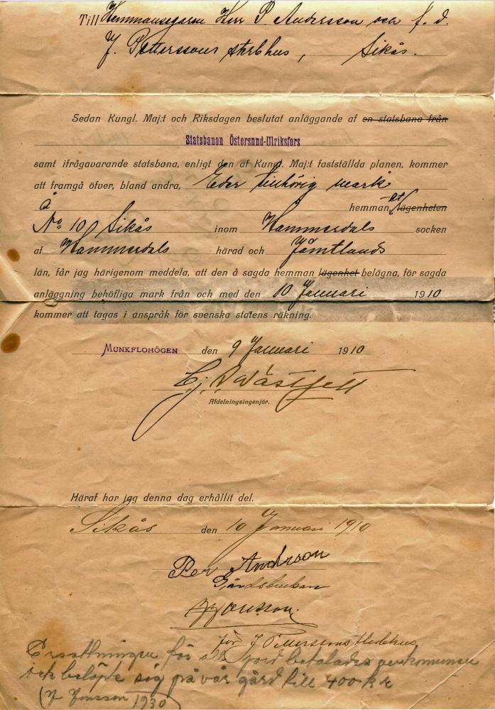 gammalt dokument