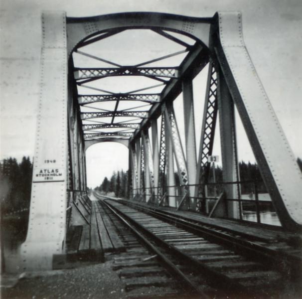 järnvägsbron 1955