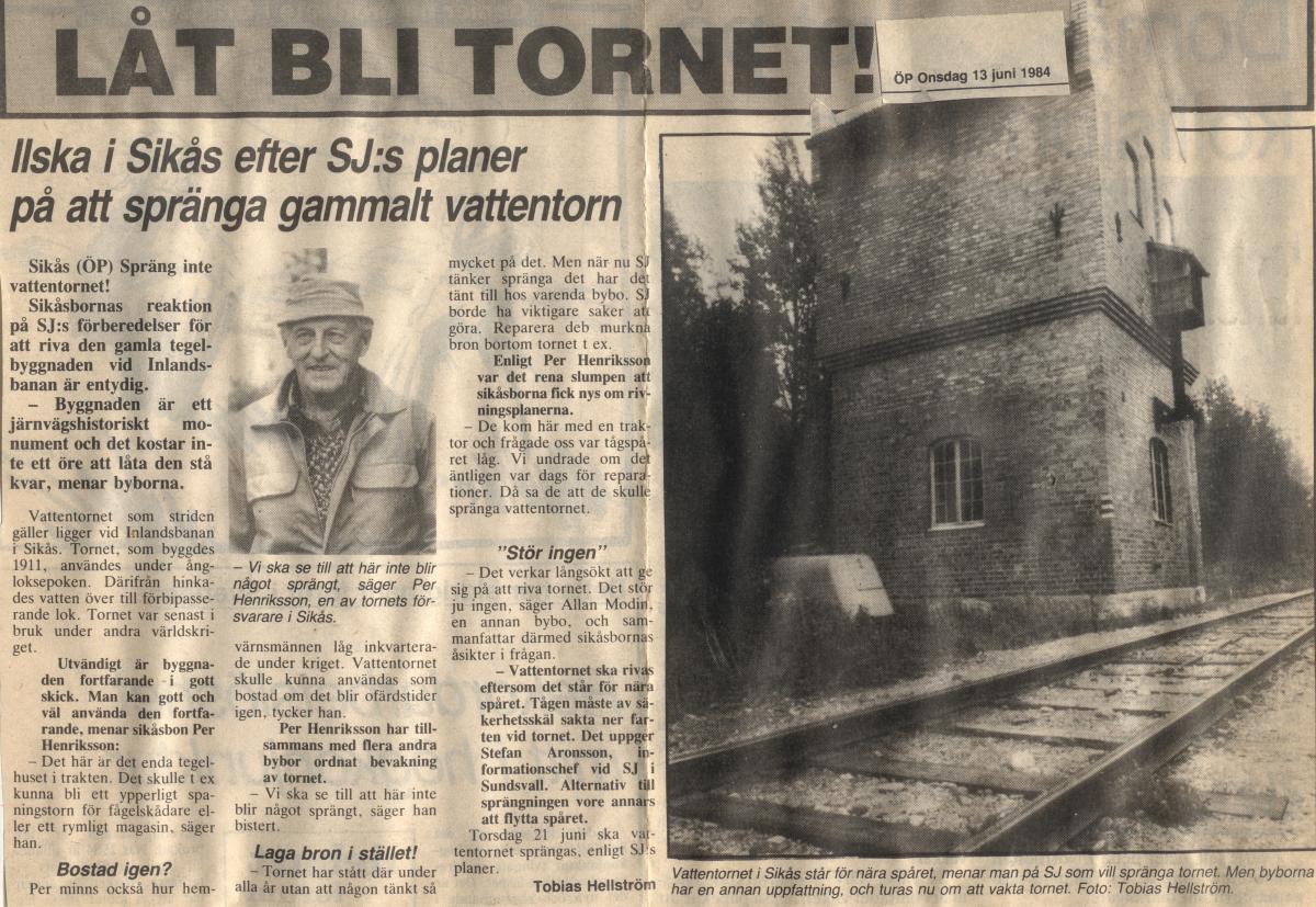 låt bli tornet 1984
