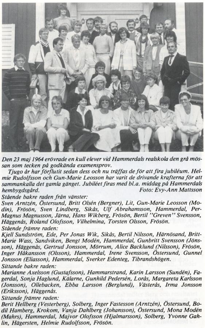 maj 1984 jubileum