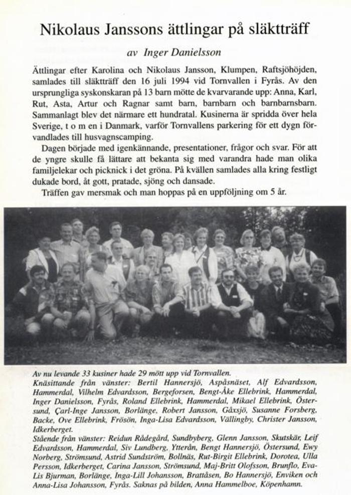 nikolaus jansson 1994