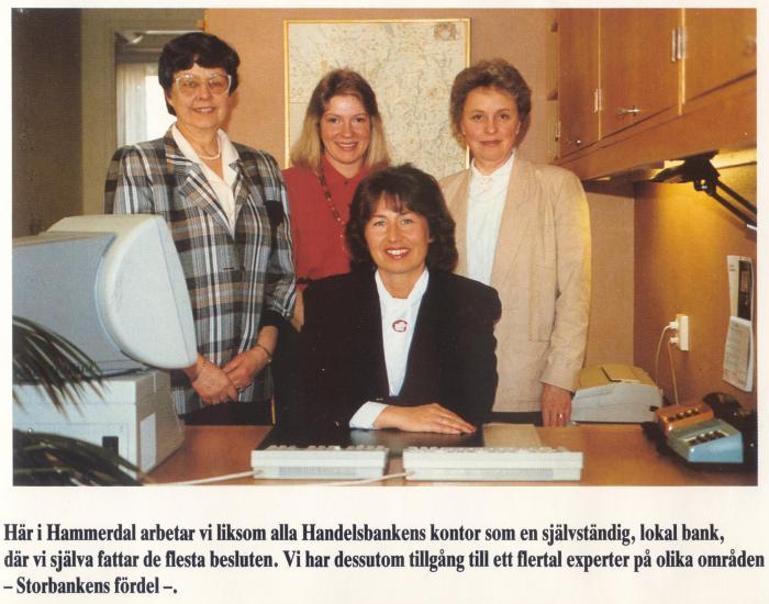personal på handelsbanken 1990 01