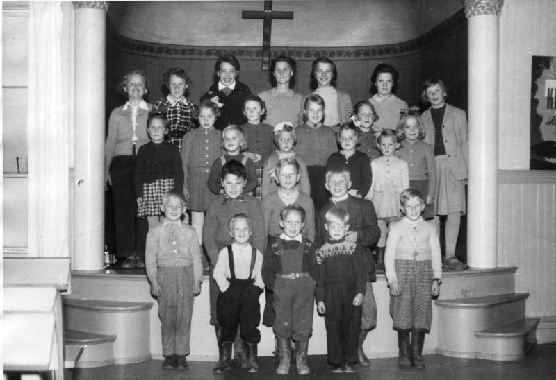 söndagsskola 1953