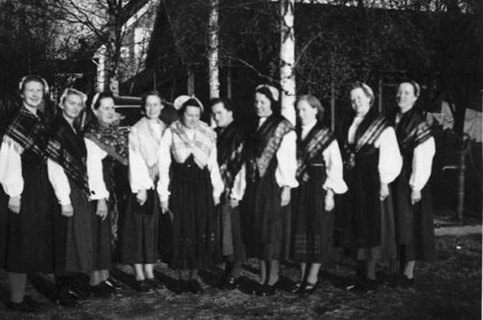 vävkurs 1950