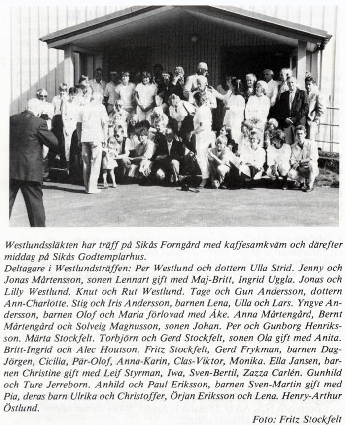 westlundssläkten 1985